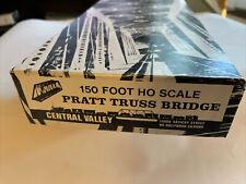 HO Scale Central Valley 150ft. Pratt Truss Bridge Kit