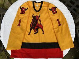 Belleville Bulls OHL CHL Game Worn Jersey NHL Stanley Cup Champ Craig Billington