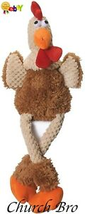 Moonmoon Skinny Rooster with Chew Guard Technology Tough Plush Dog Toy