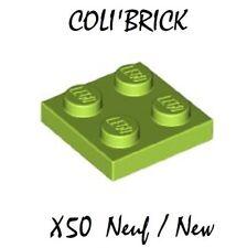 3068b LEGO 50x carreau 2x2 jaune NEUF JAUNE carrelage carreaux yellow tile tiles New