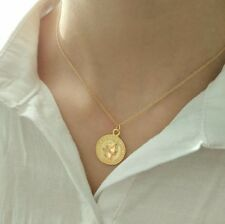 Gold coin roman necklace Lucy Williams bloggers