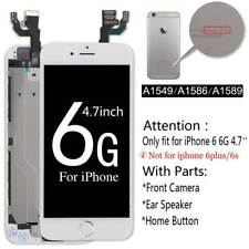 OEM iPhone 5 6 6s Plus 7 LCD Touch  Screen Digitizer Home Button + Camera