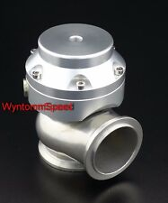 44mm Wastegate 10 PSI Turbo Stainless Steel V Band Mini Dump Valve SILVER II