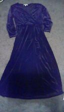 Womens Brand New Chaus Black Velvet dress size small