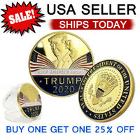 Trump 2020 Keep America Great Challenge Coin Commemorative Coin Nice Donald J