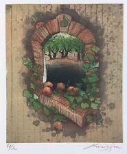 """Reinhard Zado """"Fenster."""" , Original, Grafik, Radierung"""