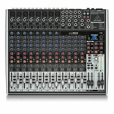 Behringer XENYX X2222USB 22 Input 2/2 Bus USB Small Format Mixer Mixing Desk