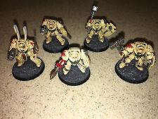 Warhammer 40000 40k Space Marine Dark Angels Deathwing Terminators paint 7/10 A