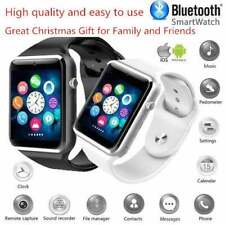 Sport Pedometer with SIM Slot Camera Bluetooth Smartwatch for Android IOS Phone