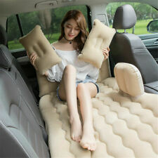 Car Air Bed Inflatable Mattress Travel Sleeping Camping Cushion Back Seat CF