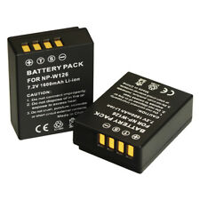 2 NP-W126 NPW126 Battery for FUJIFILM X-PRO1 XE1 HS30 HS33 HS35 HS50 EXR BC-W126