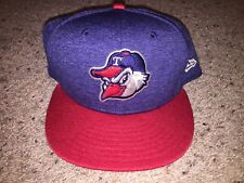 Toledo Mud Hens MiLB Authentic American Flag All-Star 4th July Fitted Hat 7 5/8