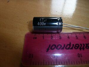 105Deg 47Mfd 400V Radial Electrolytic Capacitor