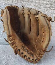 "Vintage Wilson A2160 Jim ""Catfish"" Hunter Signature Baseball Glove"