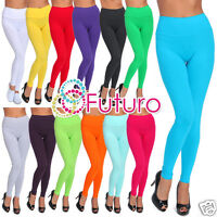 Full Length Leggings Hight Waist Casual Activewear Gym Yoga Pants Sizes 8-20 LWP
