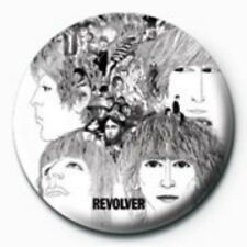 BEATLES revolver - BUTTON BADGE official merchandise - lennon & mccartney
