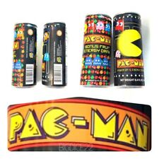 2- Pac-Man Bonus Fruit & Power Up Energy Drink Juice Cans -New Unopened