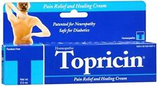 Topricin Pain Relief and Healing Cream 2 oz (Pack of 2)