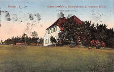 Plauen Vogtland Bismarckschule a. Kemmler Postkarte 1937