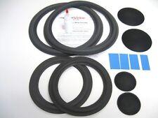 "McIntosh ML-1C  Both 8"" & 12"" Refoam Speaker Repair Kit w/ Shims & Dust Caps!"