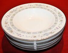 Set of 8 Royal Doulton TARA Rimmed Soup Bowls - Mint