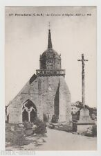 "CPA "" PERROS-GUIREC - Le Calvaire et l'Eglise"