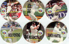 1995 Crown & Andrews ACB Cricket Pogs Full Set (110)-Rare!