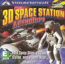 3D Space Station Adventure (PC, CD-ROM, 2000) Ships for FREE!