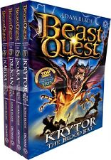 Beast Quest Series 18 Adam blade 4 Books Collection Set Krytor, Drogan, Soara