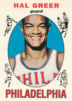 Hal Greer 1996-97 Topps Stars Reprints #19 76ers Basketball Card