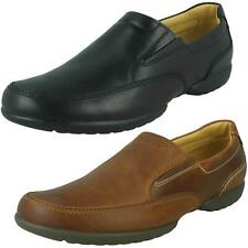"Mens Clarks Casual Shoes ""Recline Free"""