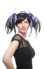 Carnaval Cosplay Halloween manga girly gothique lolita noir violet nattes 87110