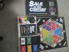 VINTAGE BOARD GAME SALE OF THE CENTURY  1986  TESTED - WORKS!!