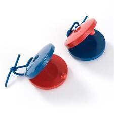 Percussion Plus Round Wooden Finger Castanets (pair) - PP591