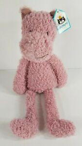 NWT Jellycat London pink Wild Thing Hippo 16 inch plush stuffed animal