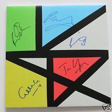 """New Order - Music Complete 2 x12"""" LTD Clear Vinyl LP + 5 Autogramme / Autographs"""