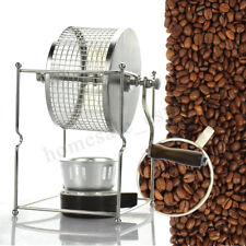 Manual Coffee Roaster Machine Stainless Steel Home Kitchen Roller Bakin