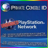 PS3 Console ID + PSID IDPS Unban 100% private Delivery Time 10-30Minte
