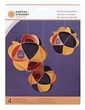 MARTHA STEWART Halloween Patchwork Ornaments Kit Makes 4 ~M4820227 ~ NIP