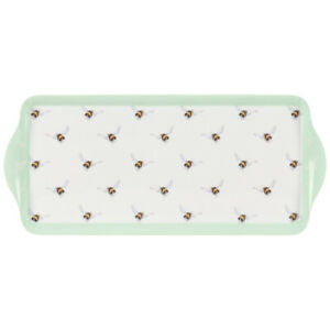 Wrendale Designs Bee Sandwich Tray Melamine Serving Tray Bumblebees