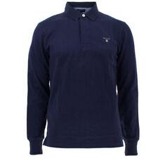 Gant Herren Poloshirt Langarm Polohemd Original Heavy Rugger Polo Herrenshirt