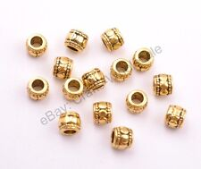 20/50/100Pcs Tibetan Silver Charm TUBE Spacer Beads for Bracklet Necklace CA3031