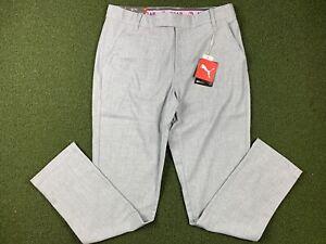 Puma Poly / Wool Trousers Golf Pants Arnold Palmer Gray SZ 32x32 ( 597306 01 )