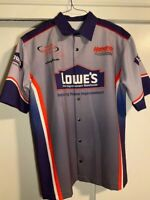 Jimmie Johnson 1 of A Kind PROTOTYPE - 2002 Rookie Hendrick Lowes XL Crew Shirt