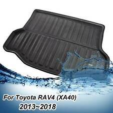 Rear Trunk Liner Boot Mat Cargo Floor Tray Carpet Fit For Toyota RAV4 2013-2018