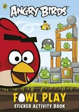 Angry Birds: Fowl Play Sticker Activity Book by aa vv Book The Fast Free