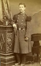 Military Portrait Meudon France Old Photo Delaporte 1875