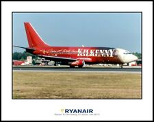 RyanAir EI-CNY Boeing 737-230(A) 11X14 Photo (J209RGAS11X14)