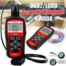 Konnwei KW808 Car Scanner Tool OBD2 EOBD Diagnostic Engine Fault Code Reader USA