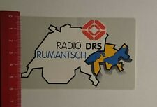Aufkleber/Sticker: Radio DRS Rumantisch (221116197)